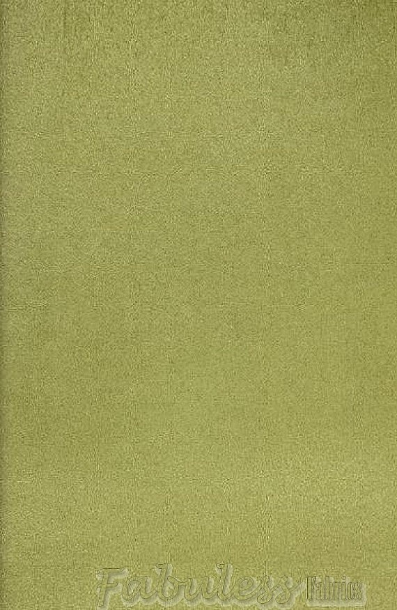 Celery Micro Suede Upholstery Fabric Per Yard