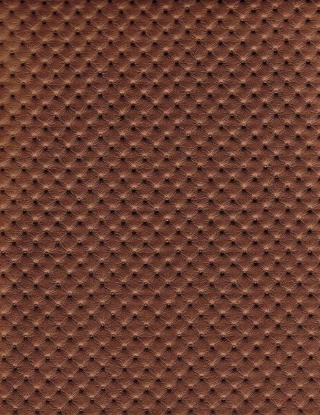 Copper Perforated Distressed Upholstery Faux Leather Vinyl