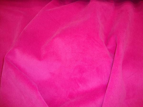 Hot Pink Upholstery Plush Velvet