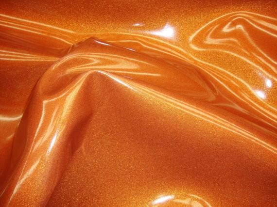 Orange Solar Storm Glitter Vinyl
