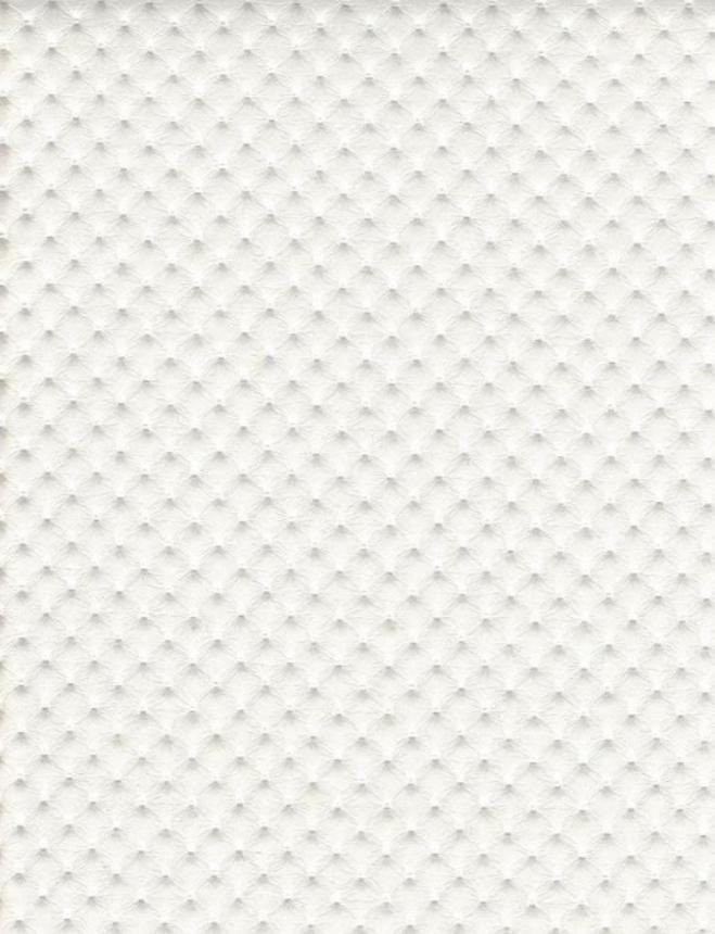 Pearl Perforated Distressed Upholstery Faux Leather Vinyl Fabric Per