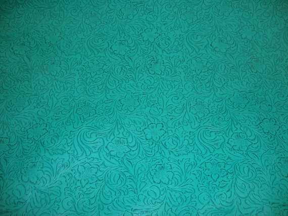 Gorgeous Embossed Vinyl 54 Wide Embossed Hand Tooled Faux Leather