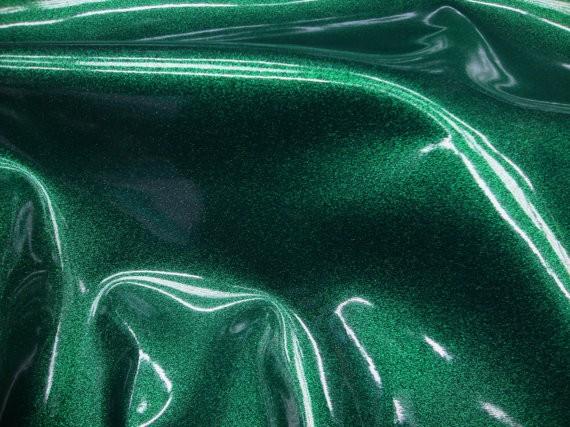 Vortex Green Glitter Vinyl