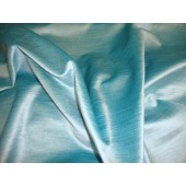 Aqua Cotton Rayon Blend