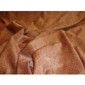 Brick Crocodile Upholstery Chenille Fabric per yard