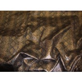 Bronze Python Metallic Embossed pattern upholstery vinyl fabric per yard