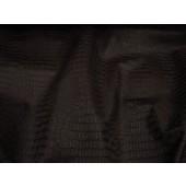 Brown Matt Gator upholstery Faux vinyl fabric per yard