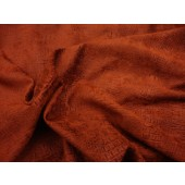 Copper Crocodile Upholstery chenille Fabric per yard