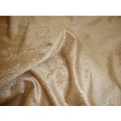 Fawn Crocodile Upholstery Chenille Fabric per yard