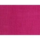 Fuchsia Linen look 100% polyester velvet Fabric