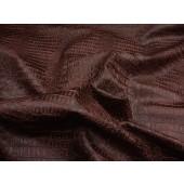 Garnet metallic Gator upholstery Faux vinyl fabric per yard