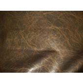 Gilt metallic Lightning upholstery Faux vinyl fabric per yard