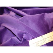 Grape 100% Cotton Velvet