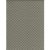 Grey Perforated Distressed Upholstery Faux Leather vinyl fabric per yard