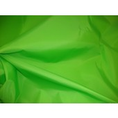 "Lime Packcloth 420 Denier Nylon Water Resistant 60"" wide fabric per yard"