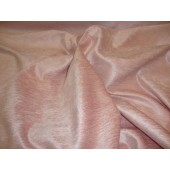 Pink Chenille with Sheen and Slub upholstery