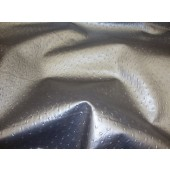 Silver Ostrich Upholstery Vinyl fabric per yard