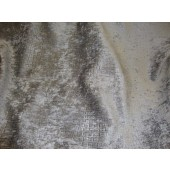 Steal Gray Crocodile Upholstery Chenille fabric per yard