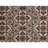 Sur Brown Jacquard Floral/Paisley