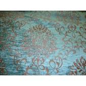 Tiffany Damask Chenille Upholstery Drapery Reversible Fabric