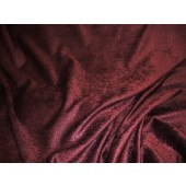 Wine Crocodile Upholstery Chenille Fabric per yard