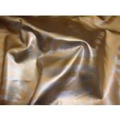 Zebra Vinyl Silver and Bronze upholstery fabric per yard