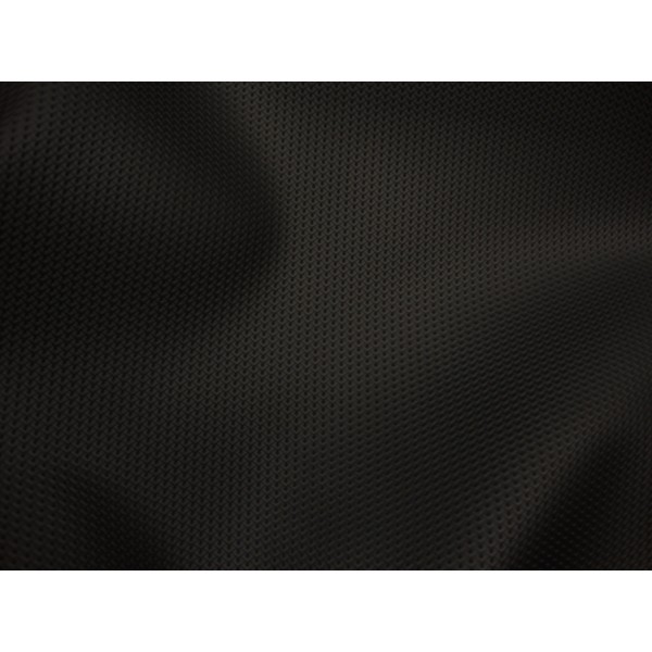 Black Diamond Perforated Commercial Marine Grade Upholstery Faux Vinyl Leather Fabric Per Yard