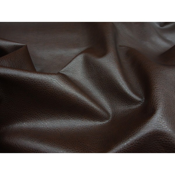 Brown Upholstery Ford Faux Leather Vinyl Fabric Per Yard