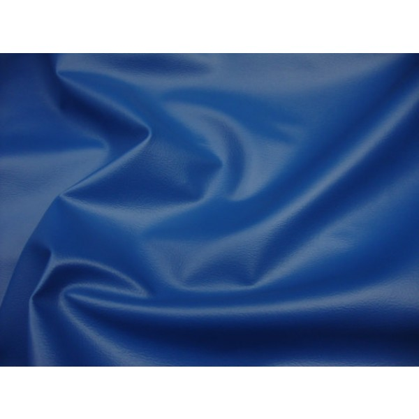 Royal Blue 2 Way Stretch Upholstery Faux Leather Vinyl